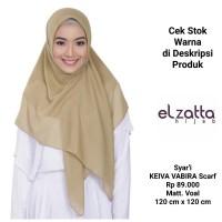 Jilbab SYARI Kerudung Segi Empat KEIVA VABIRA Scarf ELZATTA Original