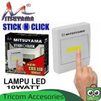 Lampu Led Tempel 10w COB Emergency - Lampu Darurat Mitsuyama MS-8508