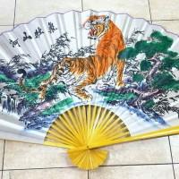 PROMO TERMURAH Kipas Mewah Super Jumbo Pajangan Hong Sui