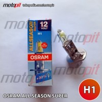 Osram All Season H1 55W 12V ALS Kekuningan Visibilitas +30% Germany