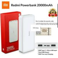 powerbank xiaomi 20000 mah original fast charging qualcomm 3.0