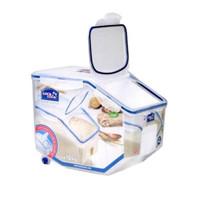 lock n lock rice case box 10kg 10 kg tempat beras dispenser hpl510