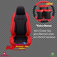 Sarung Jok/Cover Jok Mobil MBtech Avanza APV Rush Ertiga Xpander dl