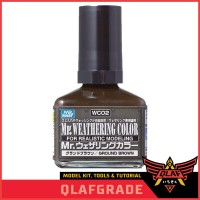 WEATHERING COLOR GROUND BROWN - WC02 WC 02 Mr Hobby