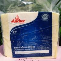 keju mozzarella anchor 2kg/ mozarella keju anchor block 2kg/ mozarela