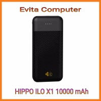 Powerbank 10000mAh Hippo ILO X1 Type C Input Garansi Resmi