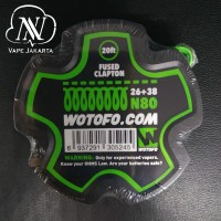 Wotofo N80 Fused Clapton Wire 26+38 - Roll