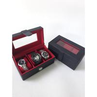 Box Kotak Tempat Jam Tangan Mewah Exlusive Watch Box Kualitas Export