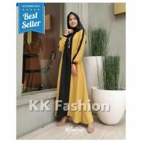 Gamis Syari Wanita Muslim Casual Maxi Dress Cewek Fashion Jubah Keren