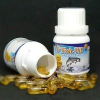 Minyak Ikan Salmon O Fish Oil Giza Herbal