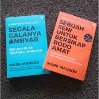 Paket Buku Best Seller Mark Manson Isi 2 Buku