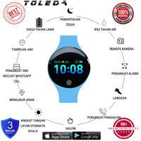 Toleda TLW 08 PLUS Original Water Resist Smart Watch Smart Band Resmi
