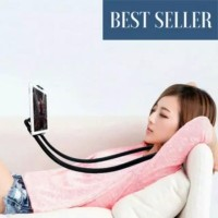 Lazy Neck Phone Holder / Stan Mount Necklace Easy - Holder HP Leher