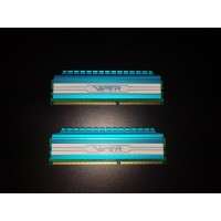 Memory Ram - Patriot Viper DDR3 8gb (2x4gb) PC12800 - PV434G160C1BL