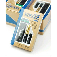Pipa Filter Rokok Sanda SD-166 Double Filter Holder Penyaring Racun