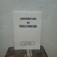 Ori Ajaran Berbudi Luhur Dan Penghulu Di Minang Kabau By H M Arief Dkk