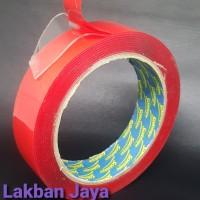 Double tape Vhb 24MM x 4,5M - ACRYLIC Tape Bening Solatape - Setara 3M