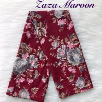 Scraft syall leher bahan wolfis motif Zaza Maroon