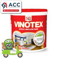 Cat Tembok Vinotex Interior Eksterior Putih 5 kg / Cat Dinding Putih
