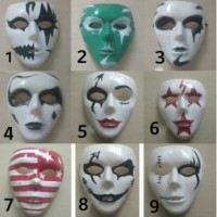CUSTOM Topeng jabbawockeez Urbex Urban Explorer joker Vendetta motif