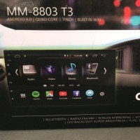 MTECH MM 8803 T3 Tape Head Unit Double Din Android 9 PIE Garansi Resmi