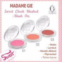 Madame Gie Sweet Cheek Blushed - Blush On 5gr