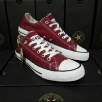 all star converse pendek merah