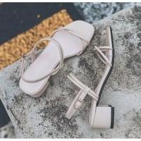 Sepatu sandal sendal wanita hak tahu big high heels tali dns 25