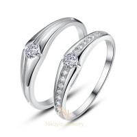 Nikayla jewelry - Cincin Kawin Emas Original 18 K