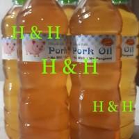 Promo Minyak Babi / Pork Oil ( 600 Ml ) Best Seller