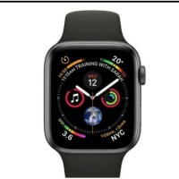 Jam tangan apple iwatch series 4 4mm blace space grey sport band MU6D2