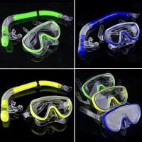 Kacamata Renang -Feb snorkling anak dewasa kaca mata snorkling alat