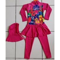 Baju Renang Anak Perempuan -Feb Baju renang anak muslim little pony