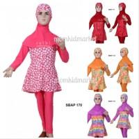 Baju Renang Anak Perempuan -Feb Baju Renang Anak Muslimah Ukuran 1 2