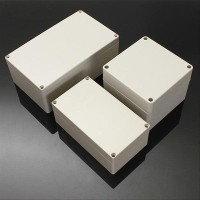 Elektronik Murah Waterproof ABS Plastic Electronic Box White Case 6