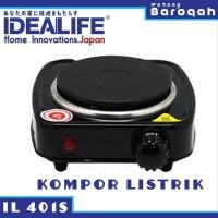 Kompor Listrik 1 Tungku - Idealife IL-401S Electrical Stove Single