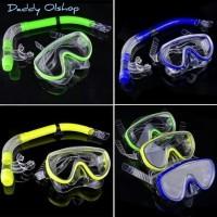 Alat Snorkeling -Feb Snorkling anak snorkling dewasa kacamata renang