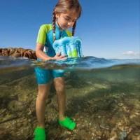 Alat Snorkeling -Feb EASYBREATH TRIBORD Kids Snorkle Glass Mask alat