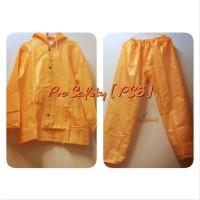 Jas dan Tuxedo Pria -Feb Jas Hujan PVC Polyester resleting warna