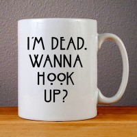 Mug Keramik - I'm Dead, Wanna Hook Up American Horror Story