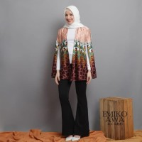 Outer Cape Abigail - Emikoawa Cardigan Batik Etnik Outwear Vest Kimono