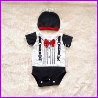 baju bayi laki suspender jumper laki bayi