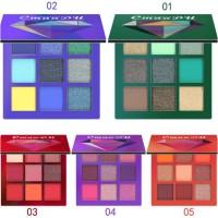 CmaaDu 9 Warna Eyeshadow Palette Shimmer Waterproof Multiguna Glitter