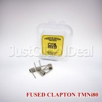 Coil Fused Clapton CoilGear 2 x 28 + 40 AWG TMNi80 Prebuilt Authentic