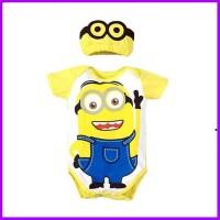 baju bayi laki laki jumper bayi lucu perempuan minnionn