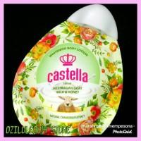 Terlaris Pemutih Kulit Body Milk Castella Whitening Lotion Susu Domba