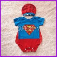 Baju Bayi Laki Laki Bayi Karakter Superman Jumper