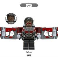 Lego Falcon Minifigure Avengers Bootleg aksesories
