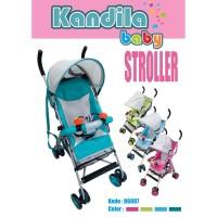 Kandila Baby Buggy Stroller Kereta Bayi Bisa 2 Posisi - Kereta Dorong