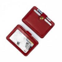 Dompet Kartu emoney simple card holder slim wallet kulit asli DKK-M05